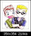 Chris_and_Wesker_by_marikimaruنسخ.png‏